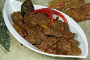 Mixed Spicy Beef | Besengek Daging