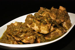 Banda Stir-Fried Chicken with Green Chillies