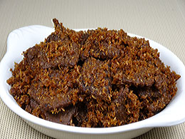 Beef in Sweet Coconut Dressing