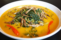 Cassava Leaves/Curly Kale Curry | Gulai Daun Singkong