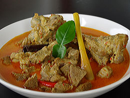 Javanese Lamb/Mutton Curry