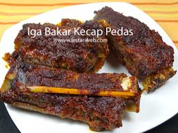 Spicy Ribs with Sweet Soy Sauce | Iga Bakar Kecap Pedas