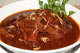 Sour-Sweet Beef Dish