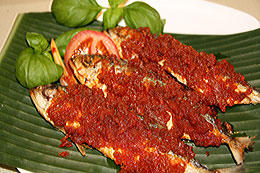 Fried Fish Dish from Southeast Sulawesi