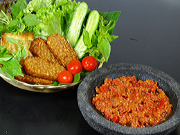 Fried Shrimp Paste Sambal