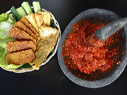 Steamed Shrimp Paste Sambal