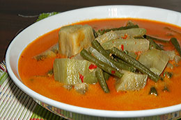Mixed Vegetable in Coconut Milk
