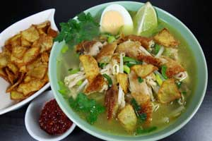 Madurese Spiced Chicken Soup