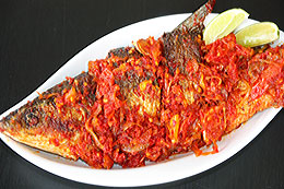 Fried Fish in Chili Sauce from Gorontalo