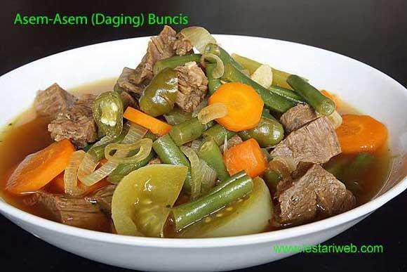 Image result for Sup Buncis Asam Pedas