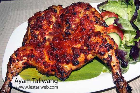 Spicy Grilled Chicken ala Lombok