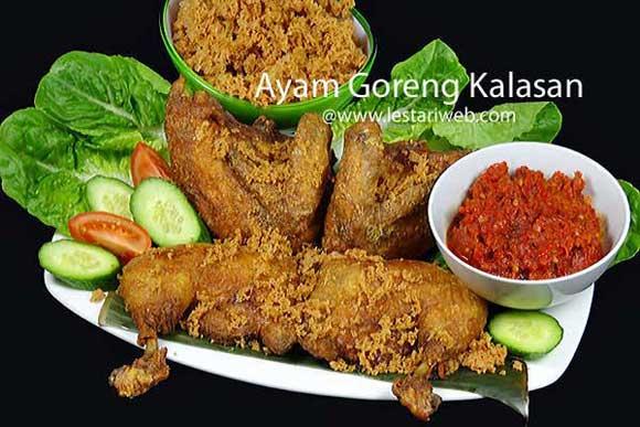 Kumpulan Resep Asli Indonesia Ayam Goreng Kalasan