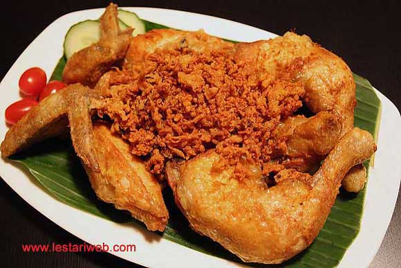 Fried Chicken with Crunchy Crumbs | Ayam Goreng Remah