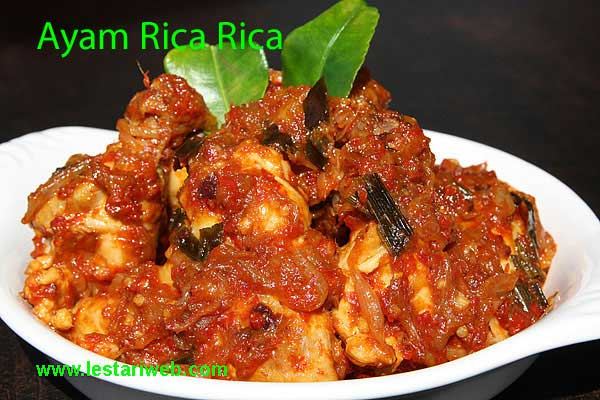 Manadonese Spicy Chicken Recipe From Indonesia