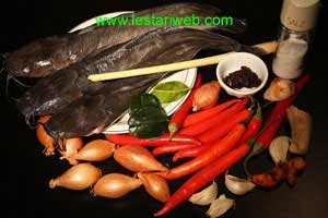 Sour & Spicy Fish Ingredients