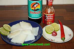 Grilled Fish Fillet Ingredients
