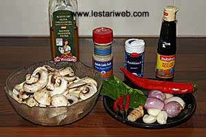 Champignon Stir-Fry Ingredients