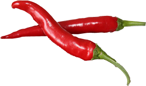 Große Chillies
