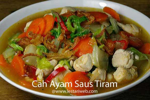 Chicken & Vegetable in Oyster Sauce