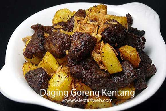 Daging Goreng Kentang