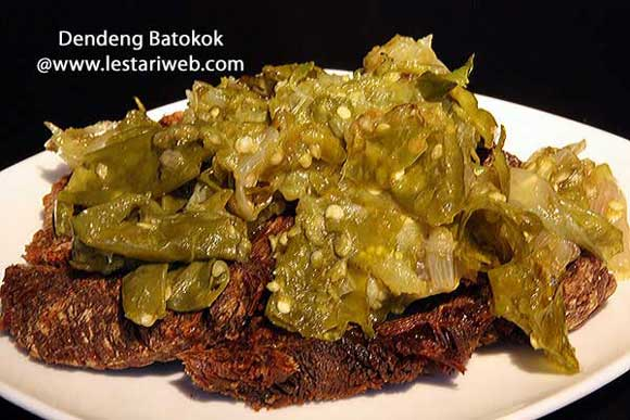 Dried Beef with Spicy Sambal | Dendeng Batokok