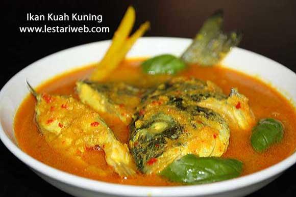Kumpulan Resep Asli Indonesia Ikan Kuah Kuning