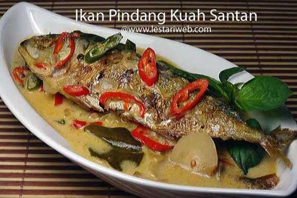 Kumpulan Resep Asli Indonesia Ikan Pindang Kuah Santan