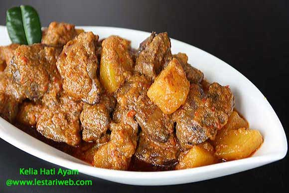 Chicken Livers In Spicy Coconut Sauce Recipe From Indonesia