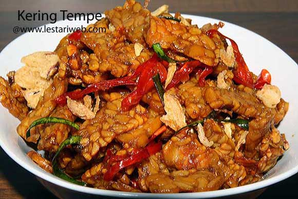 Spiced Fried Tempe | Kering Tempe