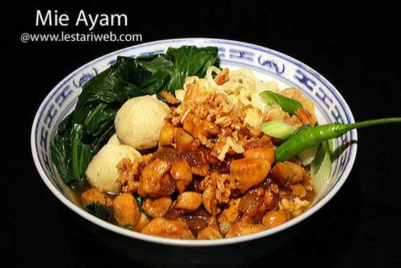 Chicken Noodles | Mie Ayam