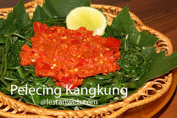 Water Spinach With Spicy Tomato Sambal