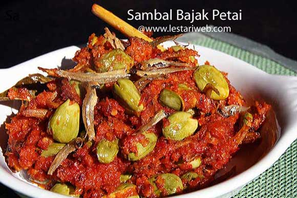 Chilli Sambal with Petai Beans