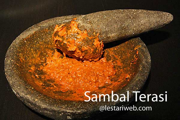 Shrimp Paste Relish | Sambal Terasi Kampung
