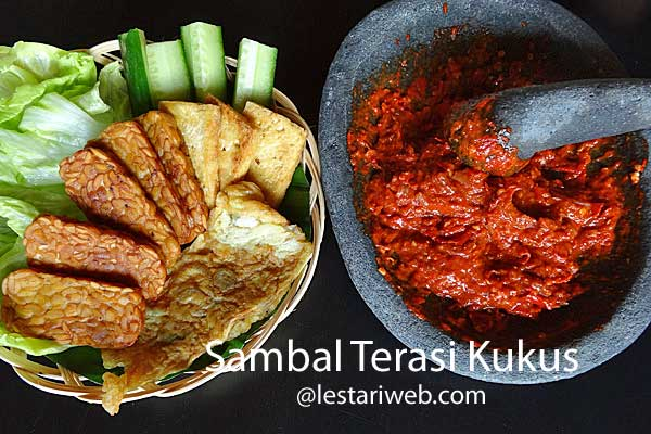 Steamed Shrimp Paste Sambal | Sambal Terasi Kukus