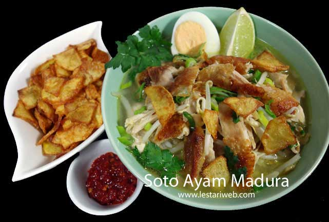 Madurese Spiced Chicken Soup | Soto Ayam Madura