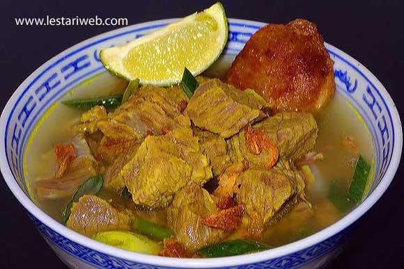 kumpulan resep asli indonesia   soto sulung