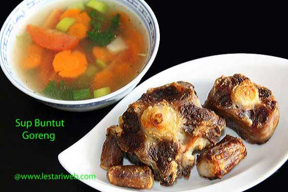 Fried Oxtail Soup
