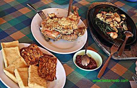 Typical Indonesia Food
